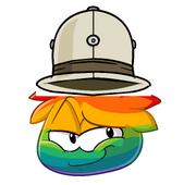 Rainbow puffle 0