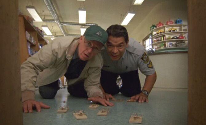 S05E09-Oscar Davis traps