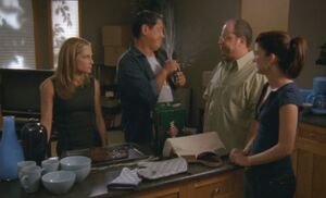 S06E14-Davis sprayed