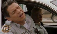 S02E03-Davis smells in car