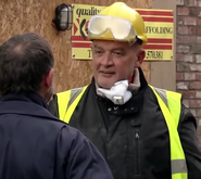 Corrie phelan as bob the builder type