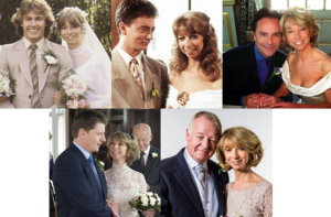 Gails marriages through the years
