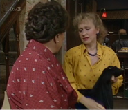 Corrie rovers hallway feb 1988