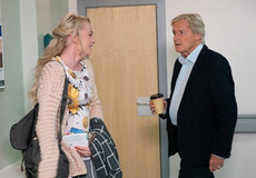 Ken discovers Sinead's diagnosis