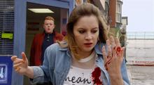 Kylie stabbed