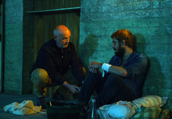 Phelan holding Andy captive