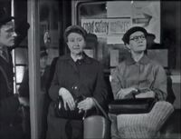 Minnie and martha on bus