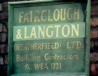 Fairclough and langton