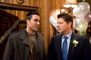 Rick Neelan hassles Joe McIntyre