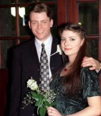 Tracy and Robert marry