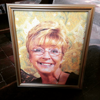 Deirdre Barlow funeral photo