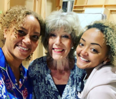 Angela Griffin and Alexandra Mardell