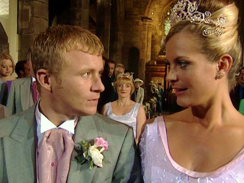 Coronation street maxine and ashley wedding dress