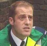 Paramedic Justin Burrows