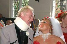 Cilla Les wedding