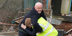 Phelan and Gary fight