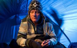 Sean Tully homeless