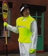 Lollipop lady 3046