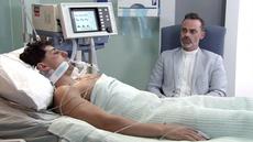Josh hospitalised