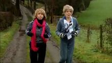Audrey Gail power walking