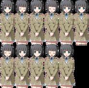 Chihaya Sprites(2U)