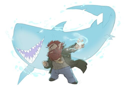 Sharky Mordecai sheliloquy