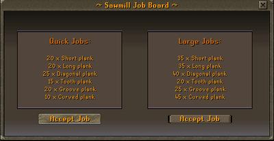 Sawmill job board