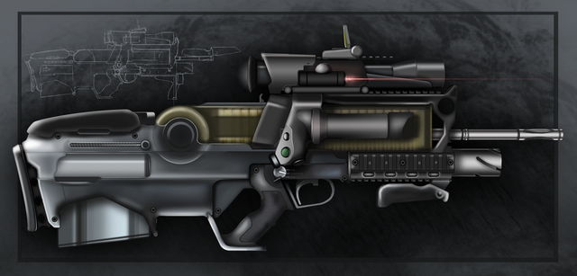 File:Futuristic Assault Rifle by Gasteiz.png