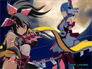 Momiji & Kagura Loading Screen