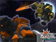 Centaur X vs Mecha Jetter