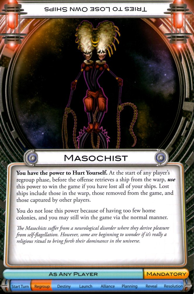 masochist calling card