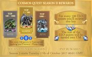 Season 2 Rewards