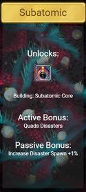 Subatomic Dimension