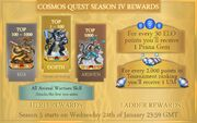 Season 4 Rewards