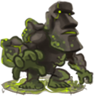 Monsters Moai golem