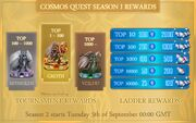 Season 1 Rewards