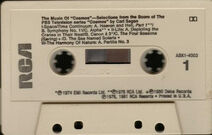 Cos music cassette 1