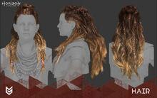 Aloy - Hair