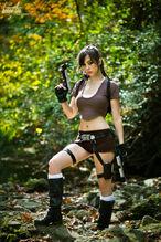 Monika Lee - Lara Croft