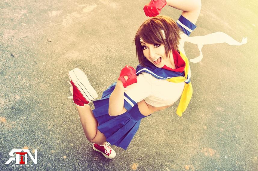 Sakura Kasugano The Cosplay Wiki Fandom Powered By Wikia