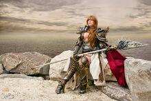 DeAnna Davis - Warrior - Granado Espada - La Dignitaire armor