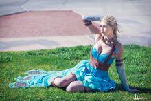 Lindsay Elyse - Elsa 3 - Steampunk version