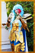 Pisces Aphrodite gold cloth by Angel.genocida from Cosplay