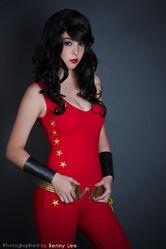 Monika Lee - Wonder Girl