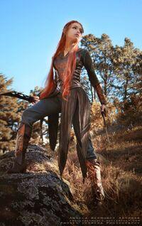 Angela Bermudez - Tauriel - Hobbit