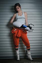 Monika Lee - Chell - Portal