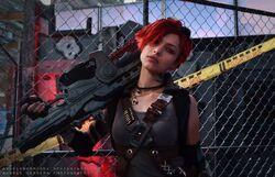Angela Bermudez - Alexandra - Gears of War