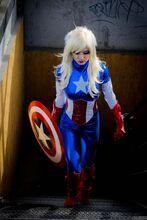 Karen Kasumi - Captain America