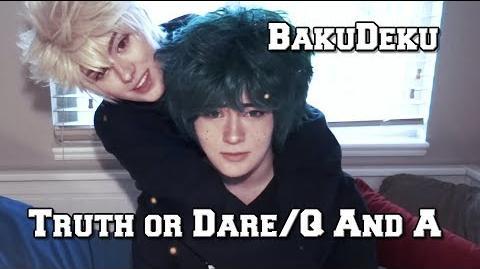 BakuDeku Cosplay T.O.D Q&A - My Hero Academia