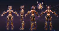 Sylvanas - Ranger cosplay 1